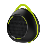 MONSTER SUPERSTAR HOTSHOT PORTABLE BLUETOOTH SPEAKER - BLACK NEON GREEN