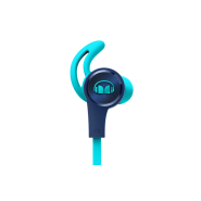 MONSTER ISPORT ACHIEVE IN-EAR HEADPHONE WITH MIC - BLUE
