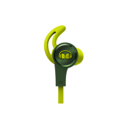 MONSTER ISPORT ACHIEVE IN-EAR HEADPHONE WITH MIC - GREEN