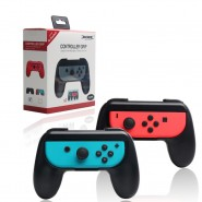 DOBE NINTENDO SWITCH N-SWITCH LEFT + RIGHT CONTROLLER GRIP HOLDER - BLACK [CLEARANCE]
