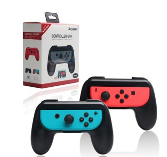 Dobe Nintendo Switch Joy Con Controller Grip Handle Left & Right TNS-851 - Black