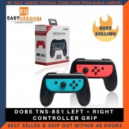 Dobe Nintendo Switch Joy Con Controller Grip Handle Left & Right TNS-851 - Black