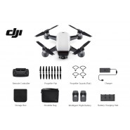 DJI SPARK DRONE FLY MORE COMBO - ALPINE WHITE - 1 YEAR DJI MALAYSIA WARRANTY