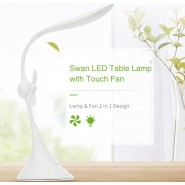 ROCK SPACE SWAN LED TABLE LAMP - WHITE