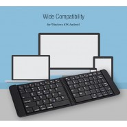 ORIGINAL B023 ULTRA LIGHT MINI FORDABLE BLUETOOTH KEYBOARD FOR WINDOWS 10 / IOS / ANDROID [CLEARANCE]