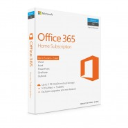 GENUINE MICROSOFT OFFICE 365 HOME RETAIL PACK 1 YEAR LICENSE (5PCS/MAC + 5 TABLETS) [CLEARANCE]