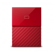 ORIGINAL WESTERN DIGITAL LUMEN 1 TB USB 3.0 EXTERNAL HARDDISK 2.5' - RED