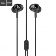 ORIGINAL HOCO M3 UNIVERSAL IN-EAR EARPHONE WITH REMOTE AND MIC 1.2 METER - BLACK