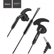 ORIGINAL HOCO M6 SPORTS IN-EAR EARPHONE WITH REMOTE AND MIC 1.2 METER - BLACK