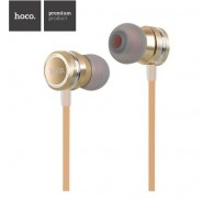 ORIGINAL HOCO M16 IN-EAR EARPHONE WITH REMOTE AND MIC 1.2 METER - GOLD