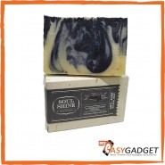 SOUL SHINE VCO LAVENDER ACTIVATED CHARCOAL HANDMADE COLD PROCESS SOAP