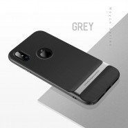 APPLE IPHONE X ROCK ROYCE SERIES PROTECTION CASE  - GREY