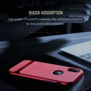 APPLE IPHONE X ROCK ROYCE SERIES PROTECTION CASE - RED