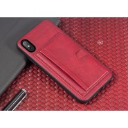 APPLE IPHONE X ROCK SPACE CANA SERIES PROTECTION CASE - RED