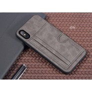 APPLE IPHONE X ROCK SPACE CANA SERIES PROTECTION CASE - GRAY
