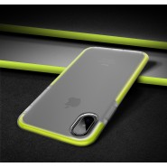 APPLE IPHONE X ROCK SPACE GUARD SERIES PROTECTION CASE - GREEN