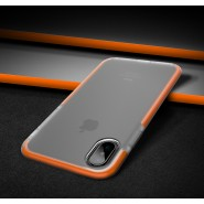 APPLE IPHONE X ROCK SPACE GUARD SERIES PROTECTION CASE - ORANGE