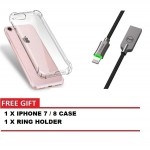 MCDODO CA-3901 KNIGHT 1.2 METER LIGHTNING AUTO DISCONNECT DATA CABLE + IPHONE 7 / 8 CASE