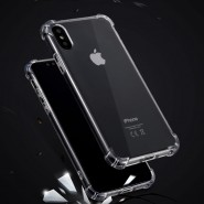IPHONE X ANTI SHOCK DROP PROOF TRANSPARENT PROTECTION COVER CLEAR CASE