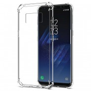 SAMSUNG GALAXY S8 ANTI SHOCK DROP PROOF TRANSPARENT PROTECTION COVER CLEAR CASE