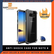 SAMSUNG GALAXY NOTE 8 ANTI SHOCK DROP PROOF TRANSPARENT PROTECTION COVER CLEAR CASE