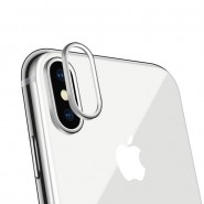 CAMERA LENS RING COVER WITH PROTECTOR COMPATIBLE WITH IPHONE X [CLEARANCE]