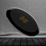 ROCK SPACE W9 QUICK WIRELESS CHARGER - BLACK