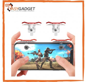 1 Pair New Upgraded Version PUBG ROS Chicken Dinner Shortcut Key Joystick L1 R1 Shooter Controller PUBG Joysticks Auxiliary Game Button Rules Of Survival,Last Battle Ground, Survivor Royale, Free Fire
