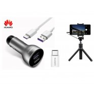 ORIGINAL HUAWEI SUPER CHARGE FAST CHARGER & TYPE C CABLE & SELFIE STICK [CLEARANCE]