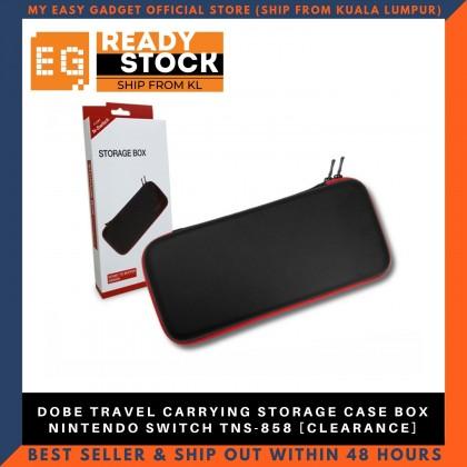 Dobe Travel Carrying Storage Case Box Nintendo Switch TNS-858 Black