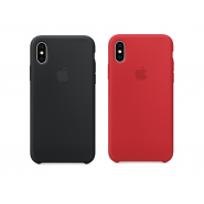 APPLE IPHONE X SILICONE PROTECTIVE BACK COVER CASE [CLEARANCE]