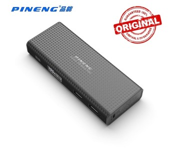 ORIGINAL PINENG PN-953 10000MAH POWER BANK 2 USB PORT - BLACK