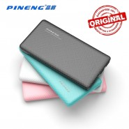 ORIGINAL PINENG PN-958 10000MAH POWER BANK 2 USB PORT - BLUE