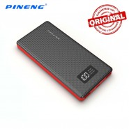 ORIGINAL PINENG PN-963 10000MAH POWER BANK 2 USB PORT - BLACK