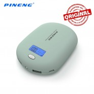 ORIGINAL PINENG PN-938A 10000MAH POWER BANK 2 USB PORT - GRAY