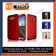 Samsung Galaxy J2 PRIME 360 Full Body Protection Case + Tempered Glass