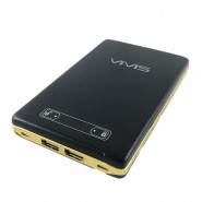 VIVIS DUAL USB PORT 17000MAH MOBILE POWER BANK TOUCH PANEL