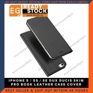 Dux Ducis Iphone 5/5S/SE Luxury Flip Leather Case Phone Case Skin Pro Protective Casing Shell