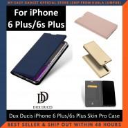 iPhone 6 Plus / 6s Plus Case Flip Cover Dux Ducis Skin Pro Luxury Genuine Leather Magnetic Flip Cover Full Protective Casing