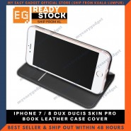 Dux Ducis Iphone 7/8 Luxury Flip Leather Case Phone Case Skin Pro Protective Casing Shell