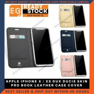 APPLE IPHONE X / XS DUX DUCIS SKIN PRO BOOK LEATHER CASE COVER