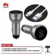 ORIGINAL HUAWEI 4.5V/5A SUPER CHARGE CAR CHARGER & 100CM 5A TYPE C CABLE MATE 10 P20 PRO