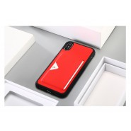 IPHONE X / XS DUX DUCIS POCARD PU LEATHER TPU CARD BACK COVER