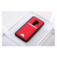 DUX DUCIS POCARD PU LEATHER TPU CARD BACK COVER FOR SAMSUNG S9 PLUS