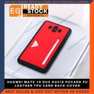 HUAWEI MATE 10 DUX DUCIS POCARD PU LEATHER TPU CARD BACK COVER