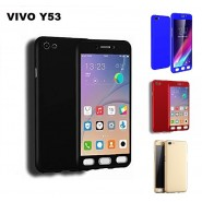 VIVO Y53 360 Full Body Protection Case + Tempered Glass