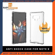 Samsung Galaxy Note 9 Anti Shock Drop Proof Transparent Protection Cover Clear Case