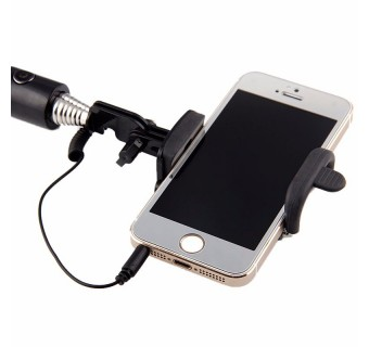 SELFIE STICK MINI COLORFUL MONO-POD EXTENDABLE HANDHELD WIRED IOS ANDROID