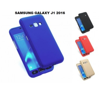Samsung Galaxy J1 2016 360 Full Body Protection Case +