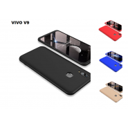 Vivo V9 360 Full Body Protection Case + Tempered Glass